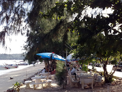 Restaurants. Rawai Beach, Phuket, Thailand