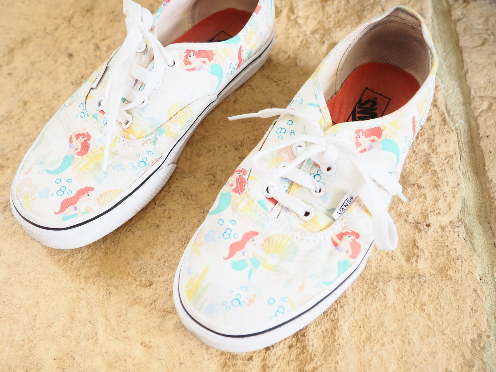 Disney Ariel The Little Mermaid Vans Shoes