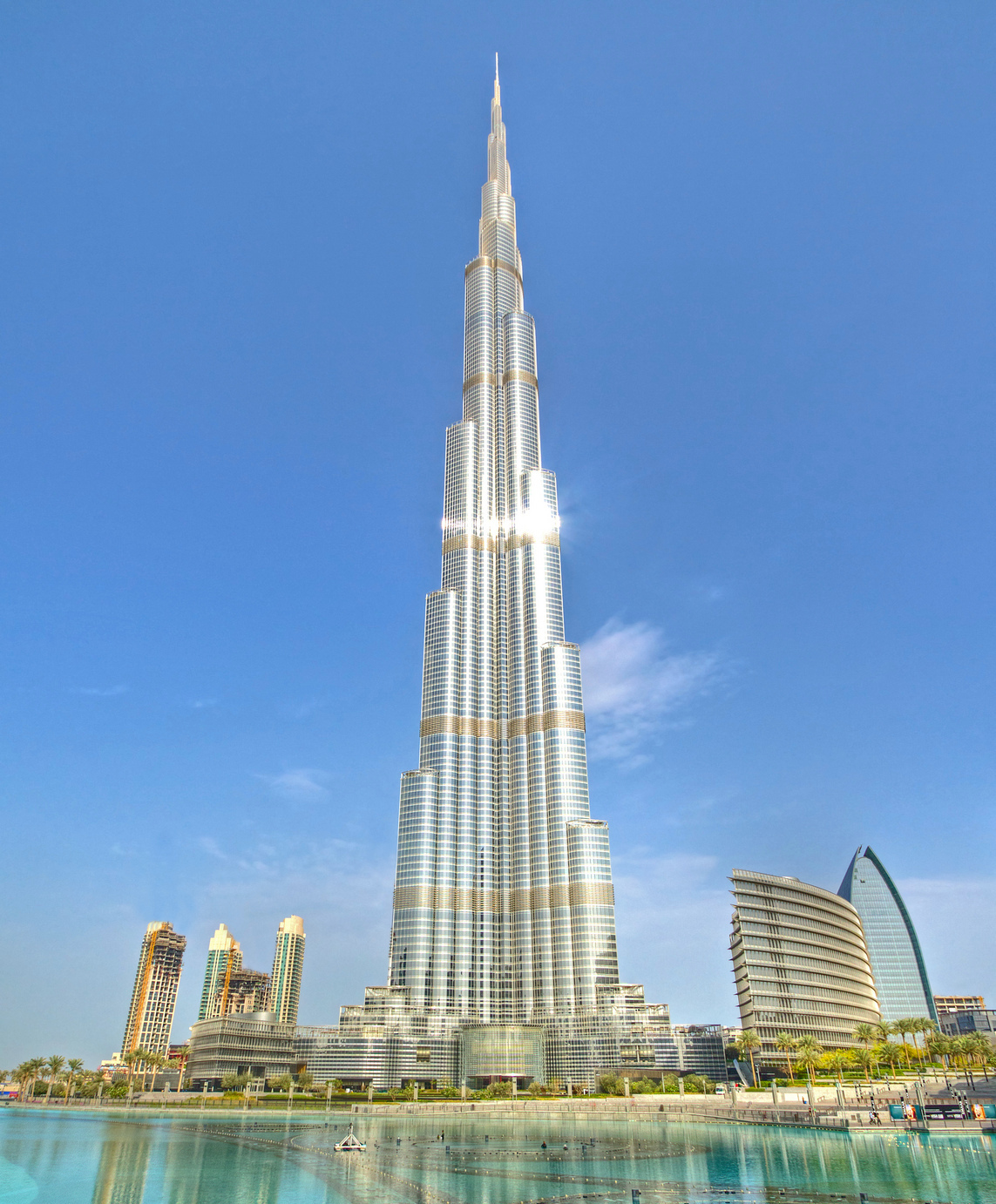 The Burj Khalifa skyscraper, Dubai
