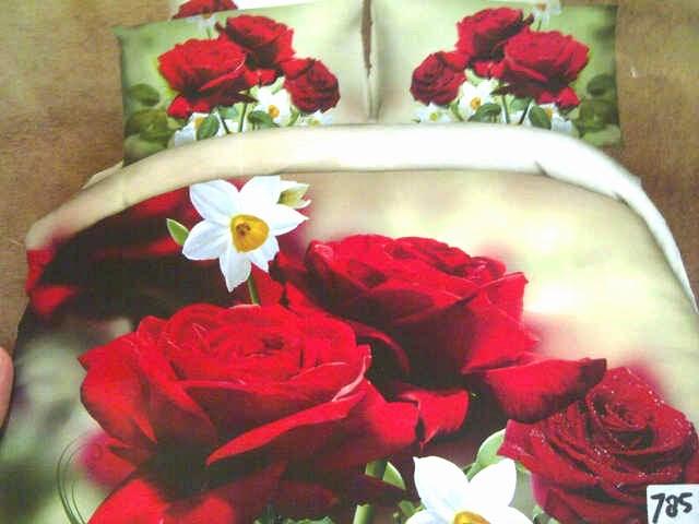 Sprei Jepang Motif Bunga Mawar