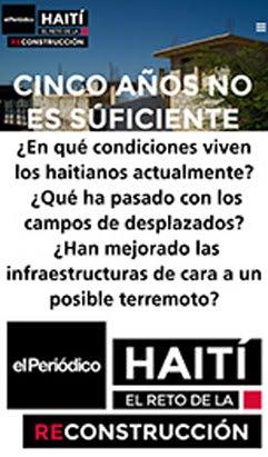 HAITÍ EL RETO DE LA RECONSTRUCCIÓN  - REPORTAJE COMPLETO