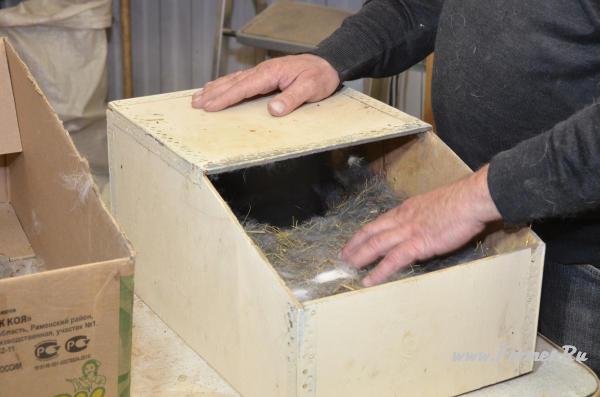Маточник для кроликов с подогревом своими руками 1131