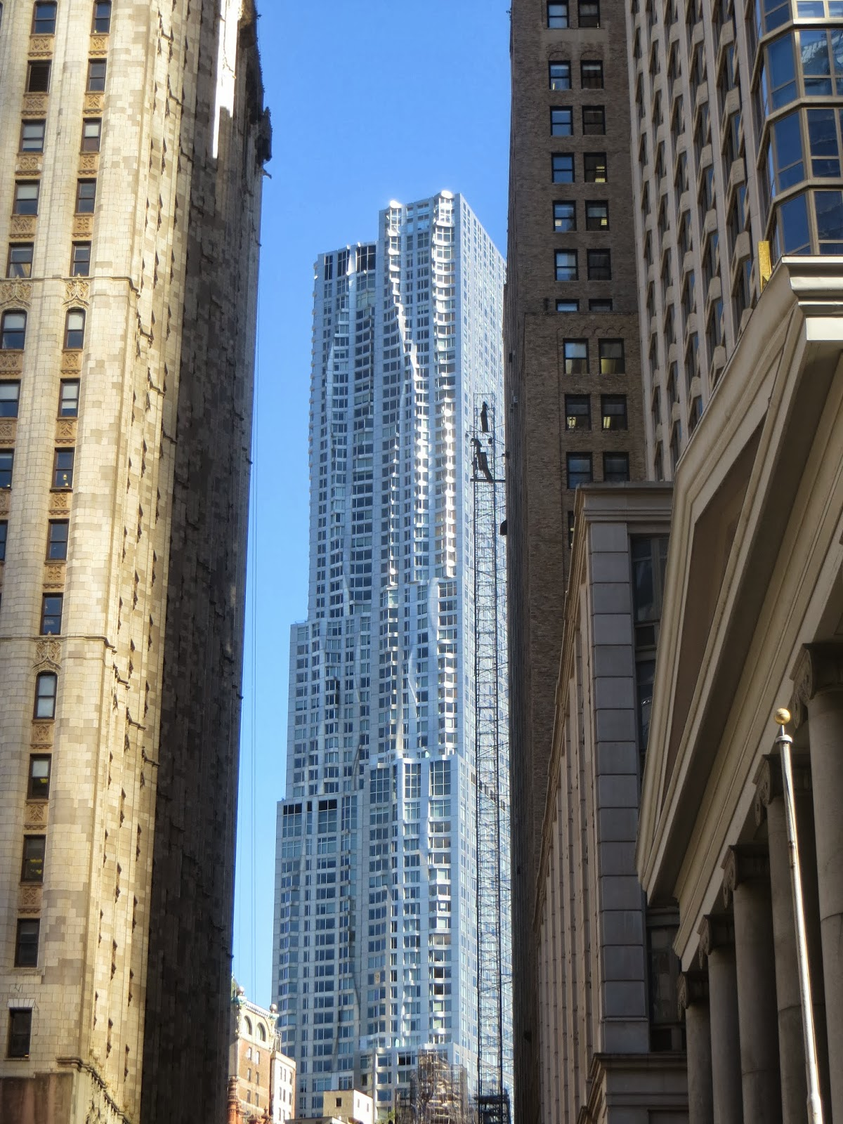 The Woolworth Building, A \