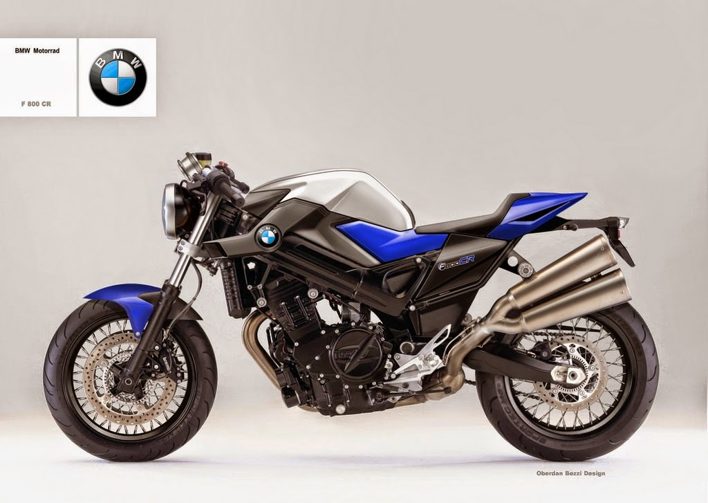 racing caf design corner bmw f 800 r by oberdan bezzi. Black Bedroom Furniture Sets. Home Design Ideas