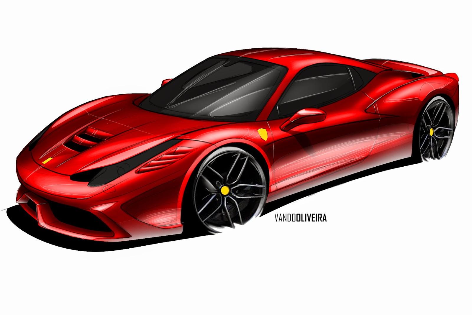 Ferrari 458 proposta cap custom vando oliveira for Ta 2s 0138
