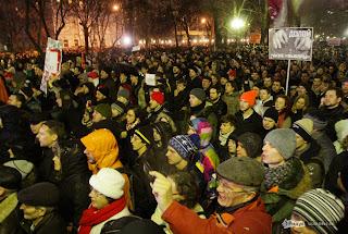 Политические движения, произошедшие в Москве после выборов в Думу стали той новой точкой отсчёта, после которой ситуация уже не будет такой как прежде.  Против режима, уничтожающего Русский народ и разворовывающего природные ресурсы, вышли на улицы все. В едином порыве были те, кого нельзя было представить вместе раньше: либералы и националисты, анархисты и демократы, студенты и пенсионеры, рабочие и предприниматели.