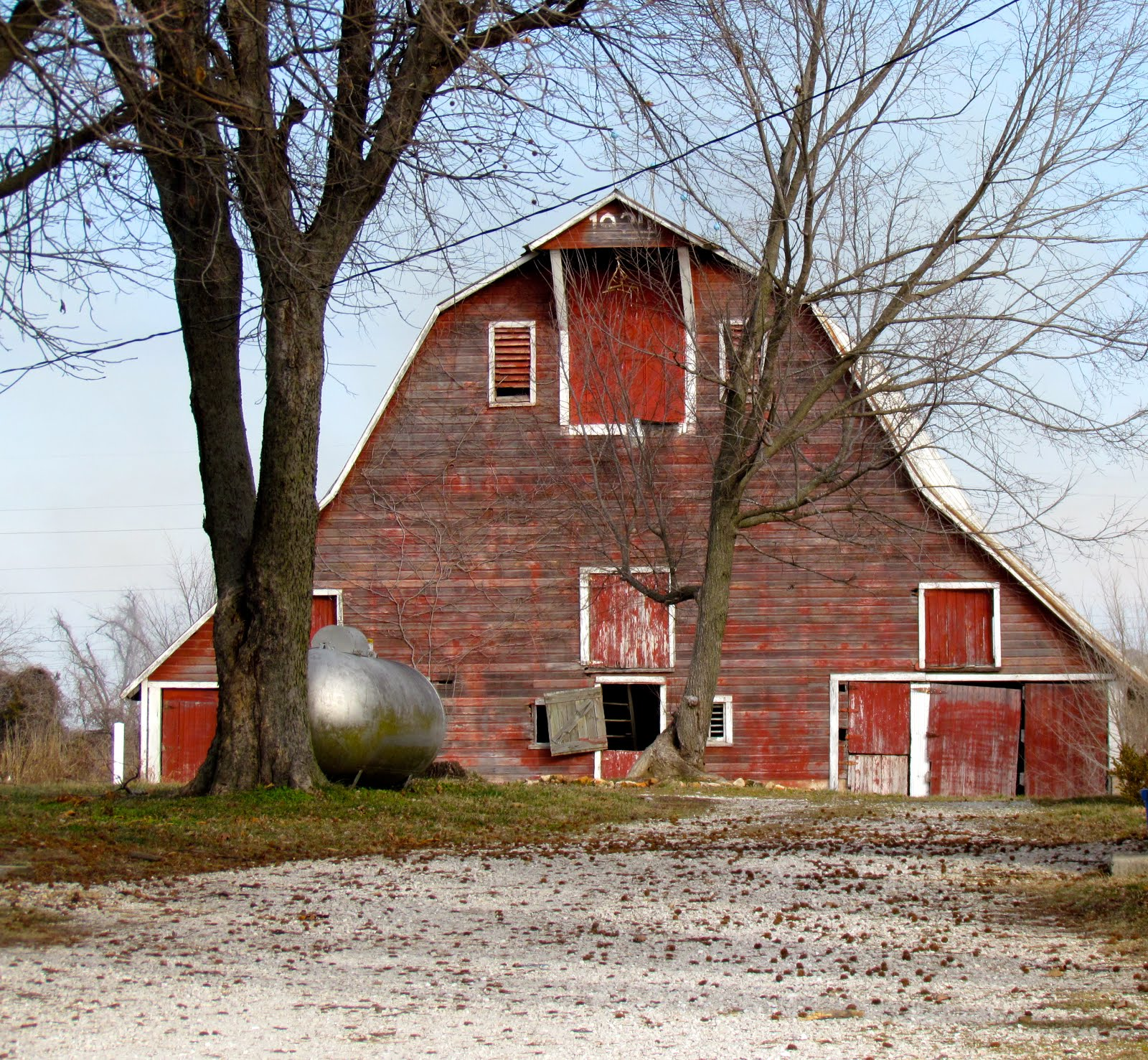 Missouri, Barns And Old Barns