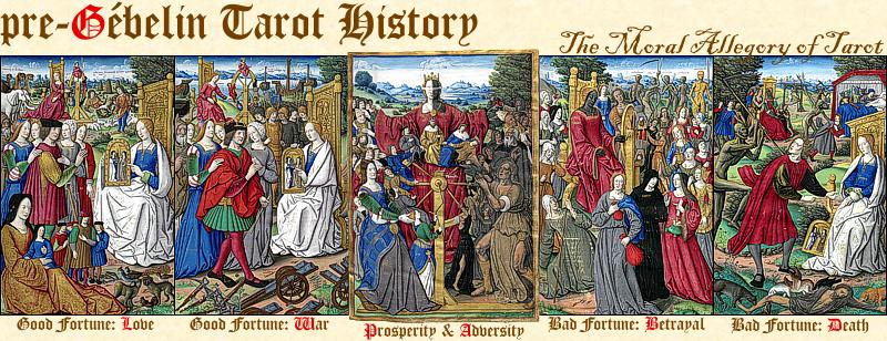 pre-Gébelin Tarot History