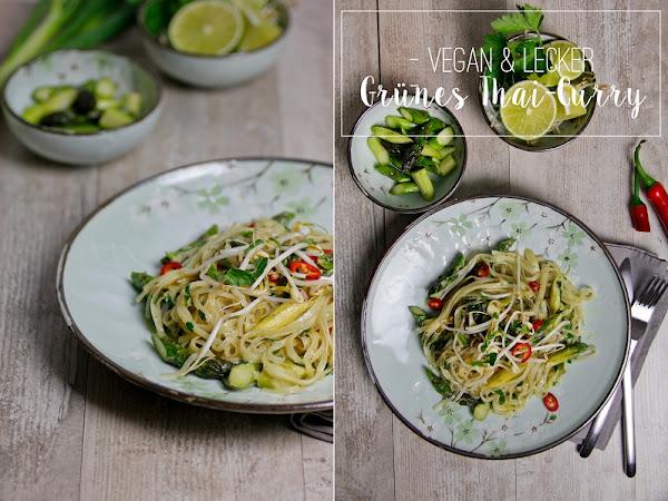 [Übern Tellerrand] Grünes Thai Curry mit Spargel