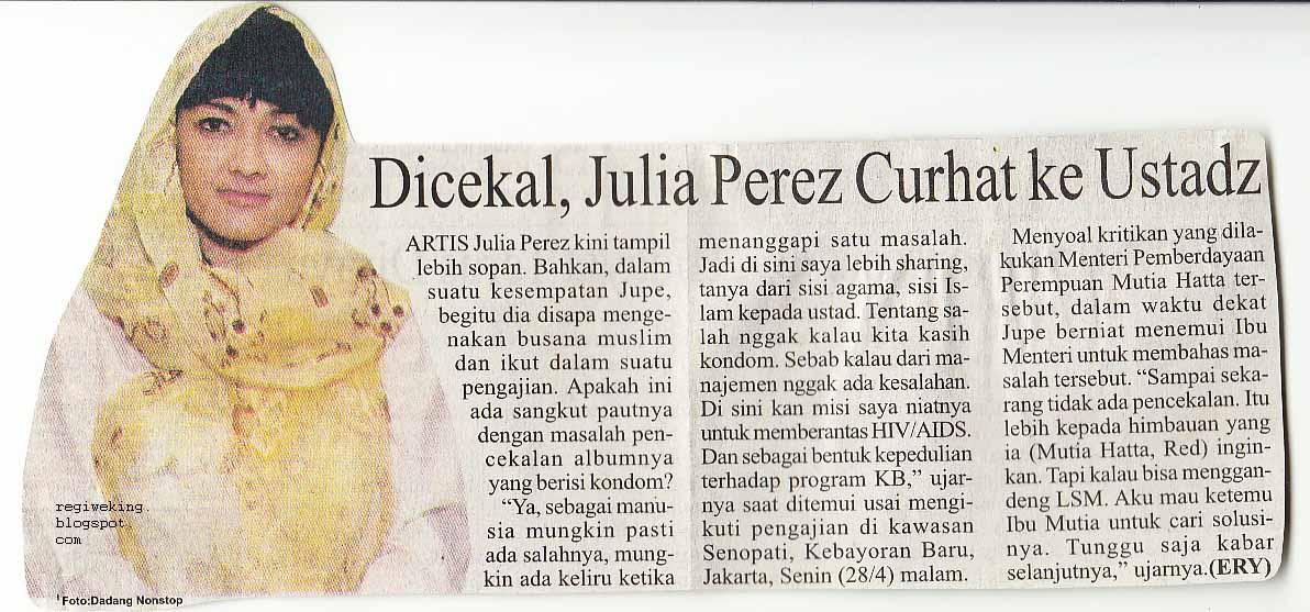 Julia Perez  Nabila Zachrie