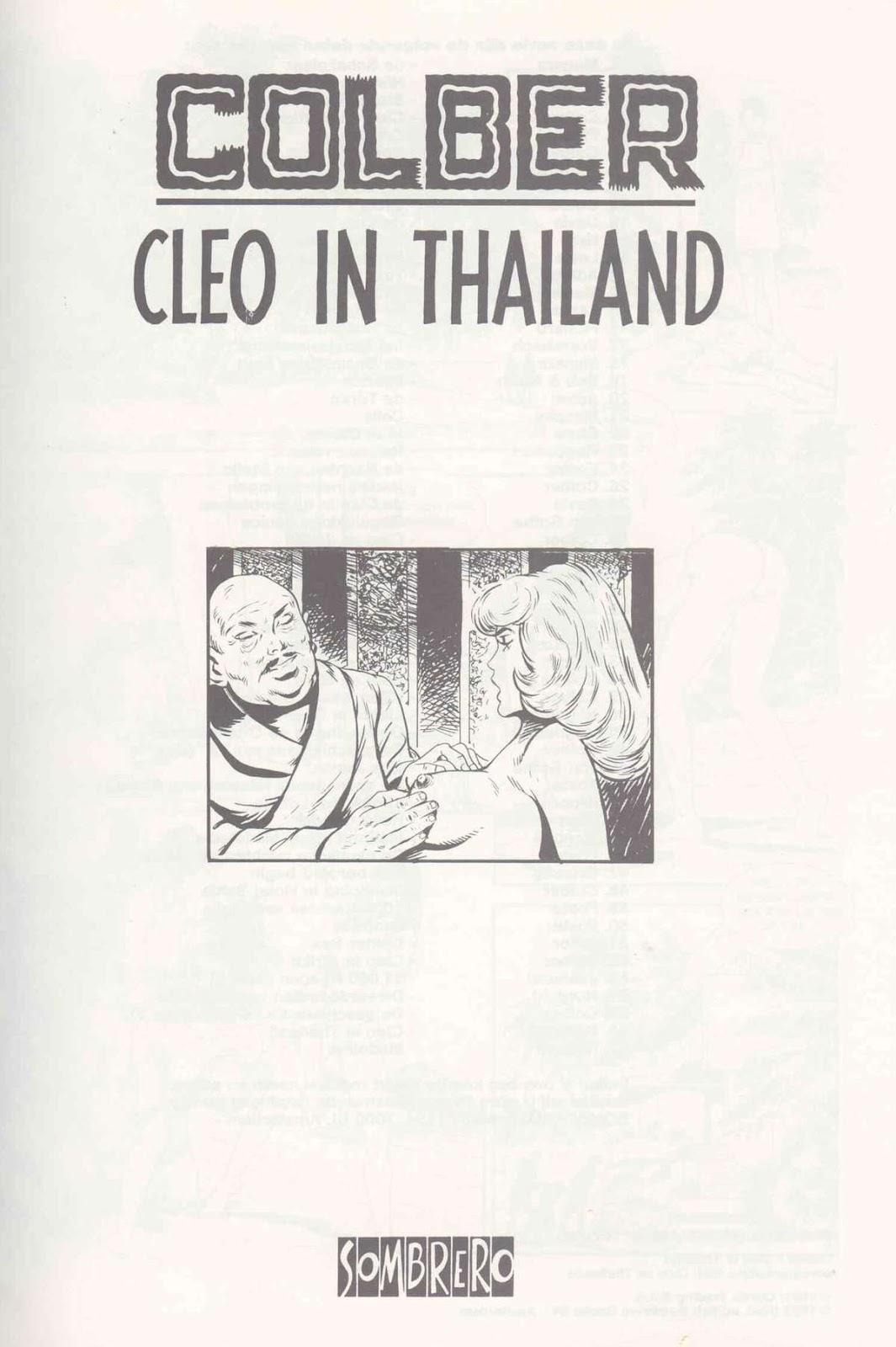 อ่านการ์ตูนออนไลน์Cleo in Thailand