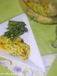 Csirkemell zöld spárgás tejföllel sütve