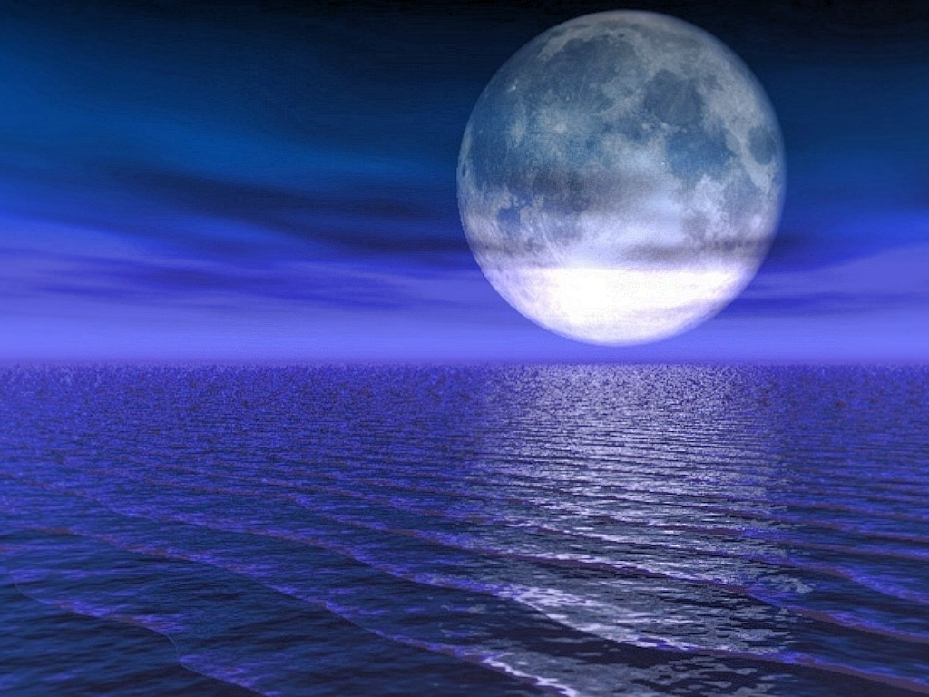The Moon is Full in the watery sign of Pisces today