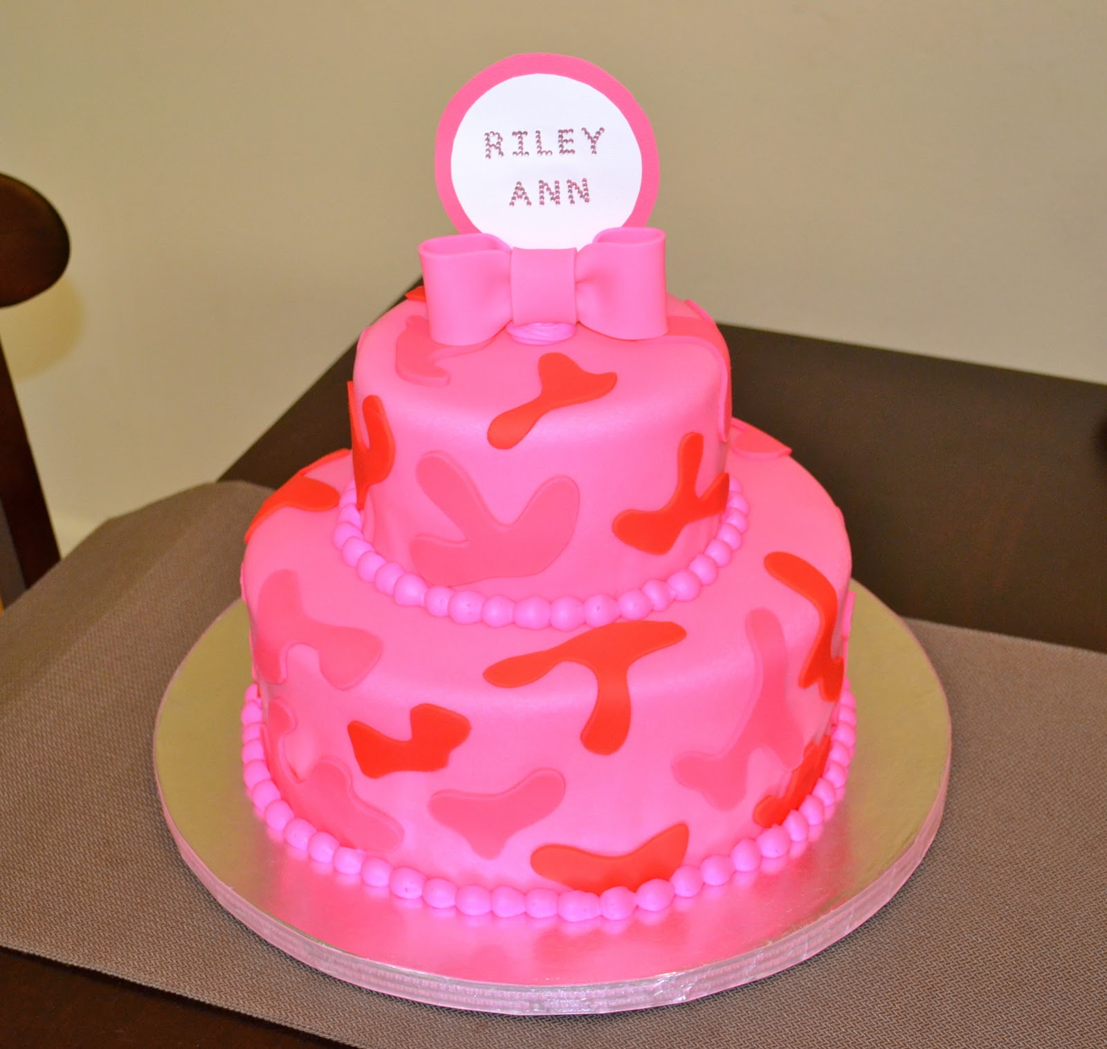 pink camo cake pink camo cake