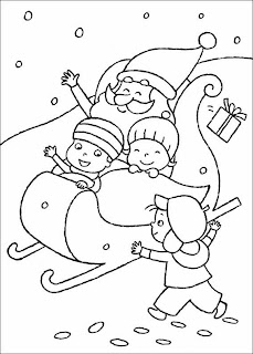 Christmas Images for Coloring, part 4