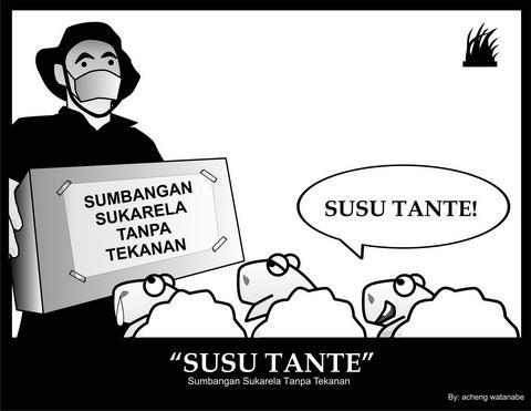 Komik Lucu, Gimana Jadinya Kalo Kambing Ikutan Mesum