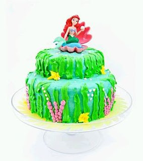 The Little Mermaid Cakes for Children Parties