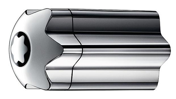 Srebrny flakon Mont Blanc Emblem Intense