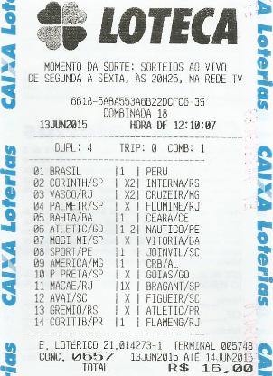 LOTECA 657 - DRAGOLINOS DO FLORENÇA