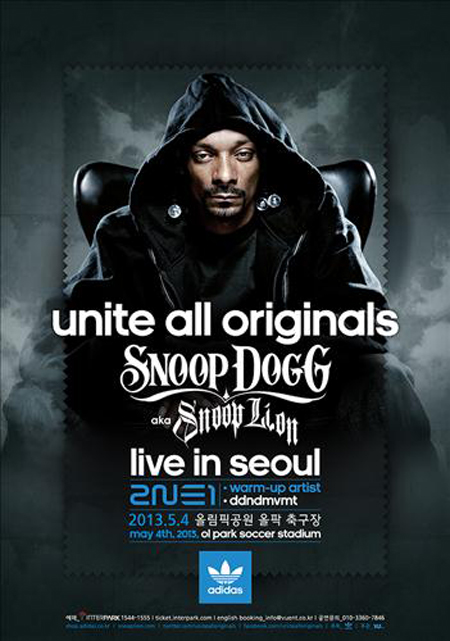 Snoop Dogg Konser Di Seoul