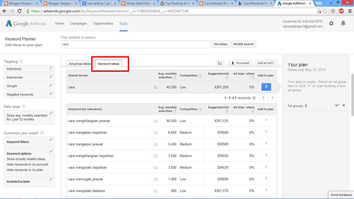 Cara Menjadi Top Ranking 1 di Google gambar 4