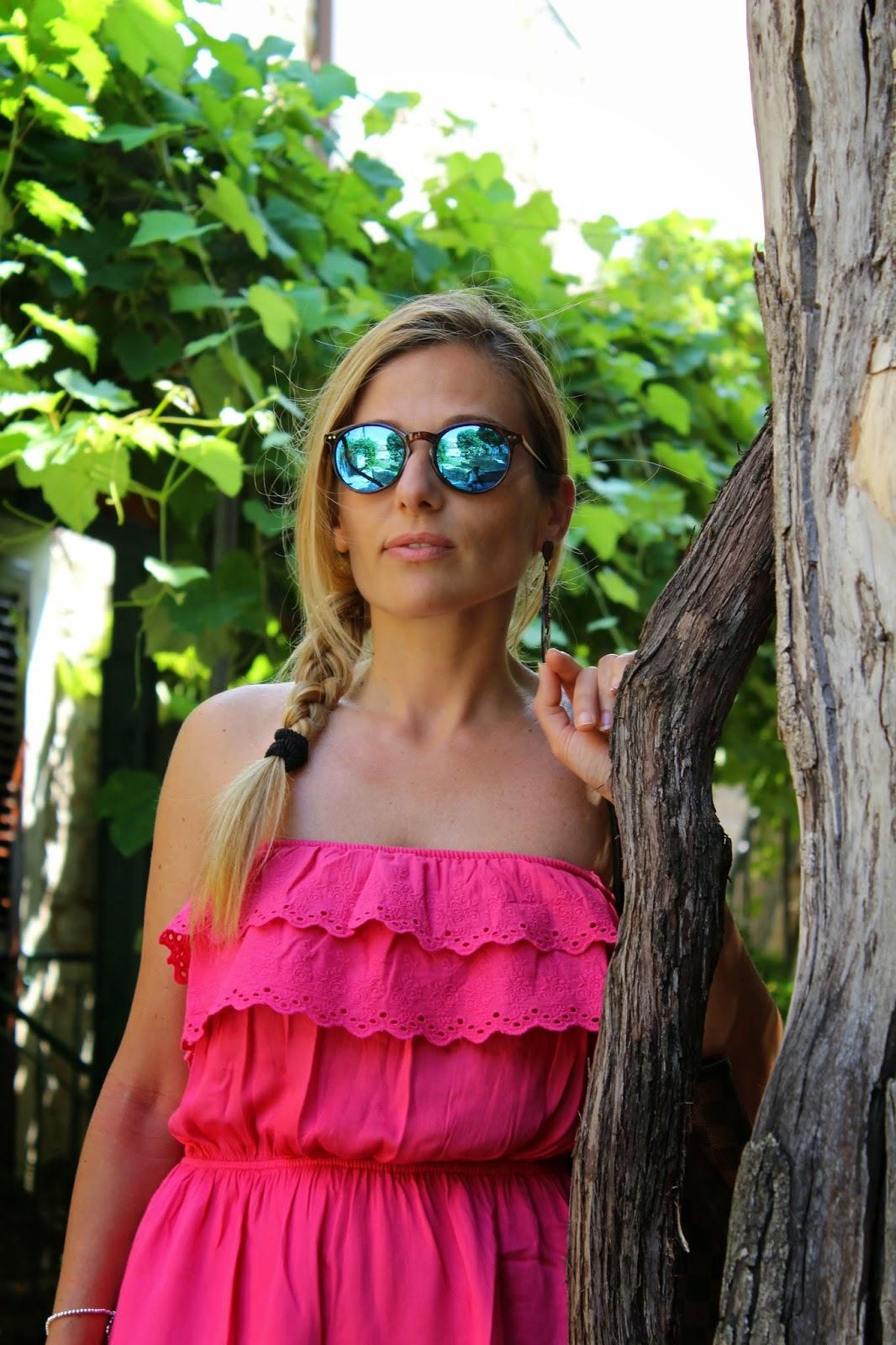 Eniwhere Fashion - Budva - Montenegro - Vestito Fucsia