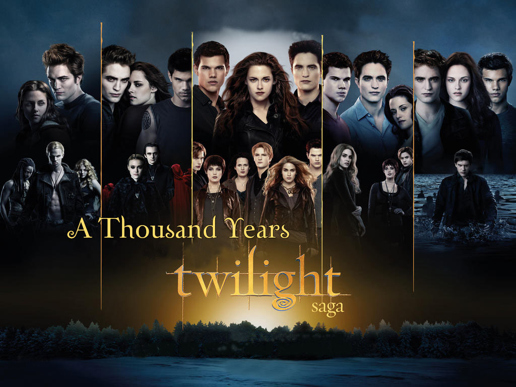 PROJETO A THOUSAND YEARS: HOMENAGEM A SAGA TWILIGHT PELO FS!