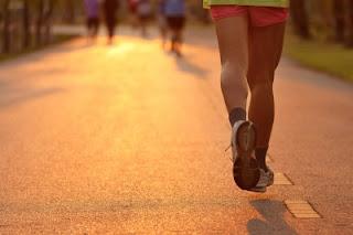 Boston marathon, running