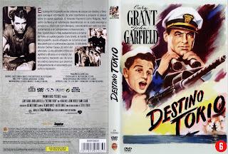Carátula de Destino a Tokio 1943