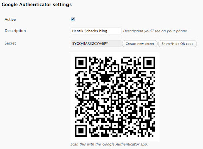 Google Authenticator Plugin for WordPress