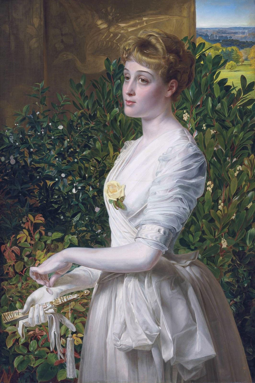 Russian Paintings Of Women Victorian British Pain...