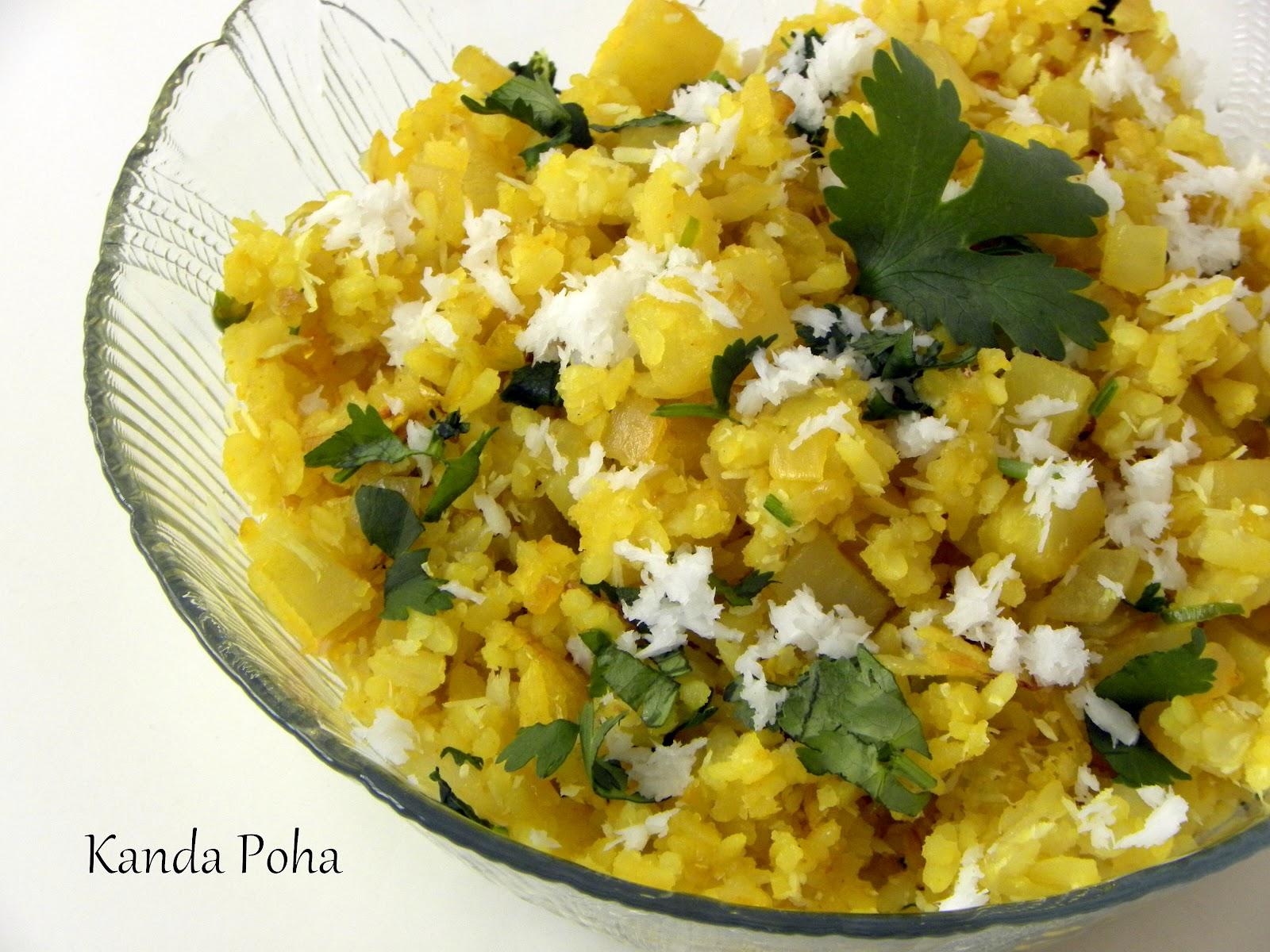 Kanda Poha Kande Poha Recipe How To Make Kanda Poha