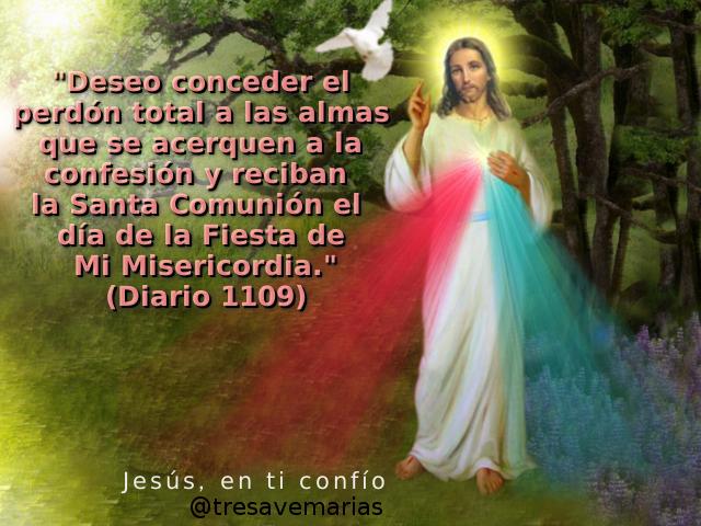 fiesta divina misericordia pedido por jesus