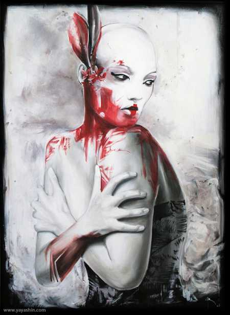 Bruno Wagner yayashin ilustrações macabras sombrias fantasia