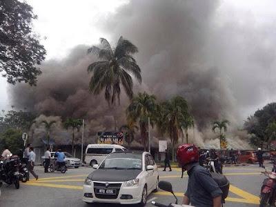 Bangunan makmal Fakulti Sains, UiTM terbakar
