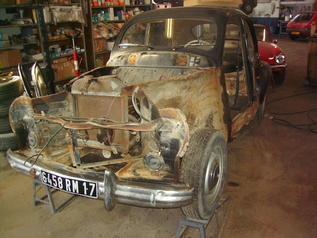 Garage halleur peugeot 203 - Garage restauration voiture ...