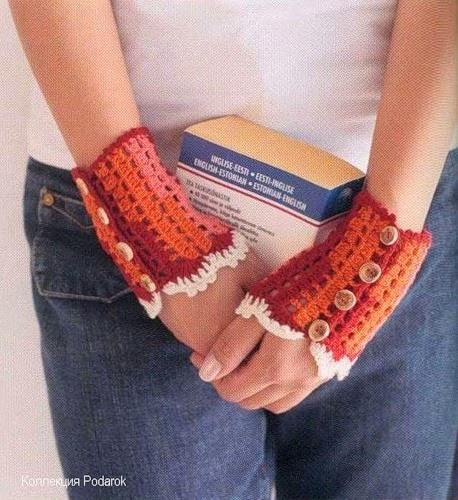 30 Guantes tejidos a crochet para elegir. | Crochet desde El Tabo.
