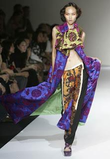 Oriental Drucke im Frühjahr-Sommer Mode