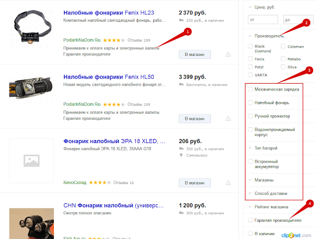 Яндекс Маркет дополнительные параметры
