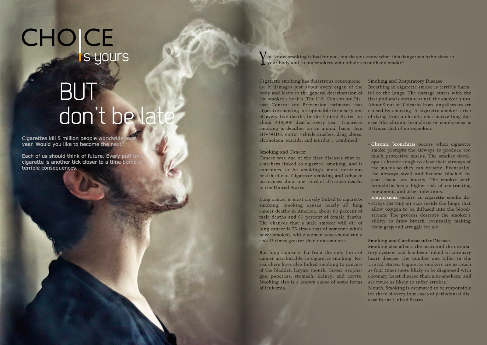 the effects of cigarettes to the secondhand smokers