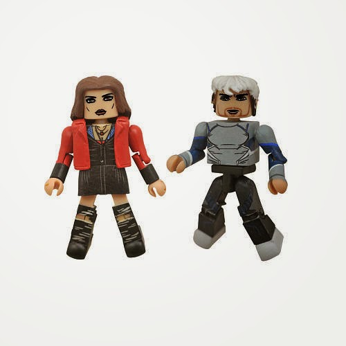 Toys R Us Exclusive Avengers: Age of Ultron Marvel Movie Minimates 2 Pack - Quicksilver & Scarlet Witch