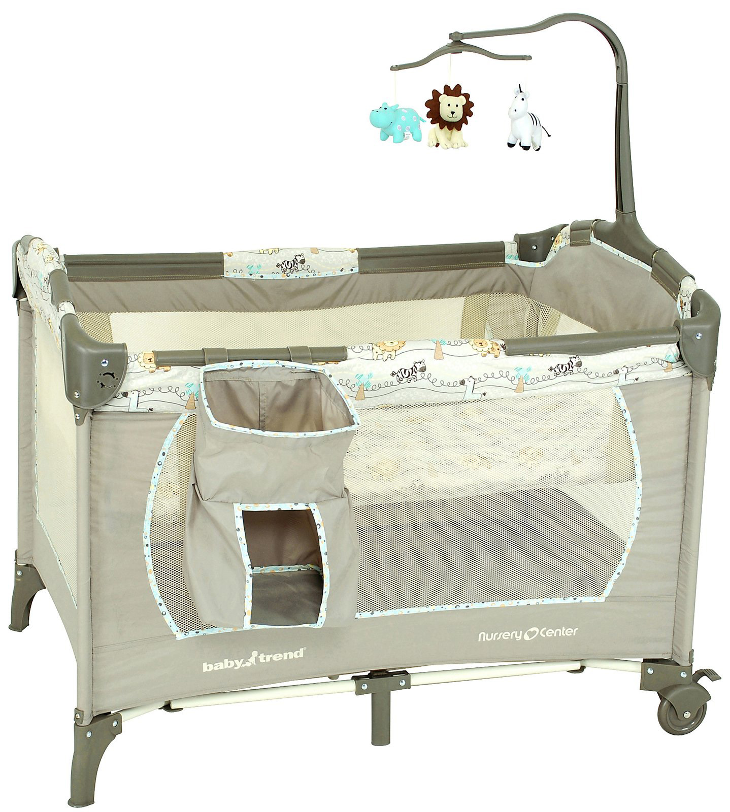 Habitación del bebé: Cunas prácticas y livianas