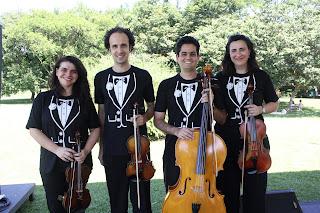 quarteto de cordas dell'arte-apresentação no sesi rio preto-música clássica-erudita