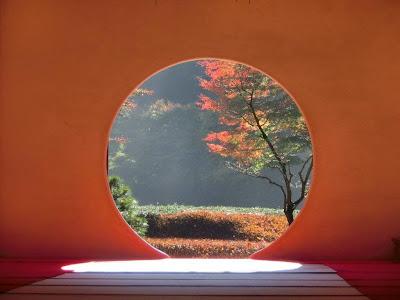 明月院悟りの窓