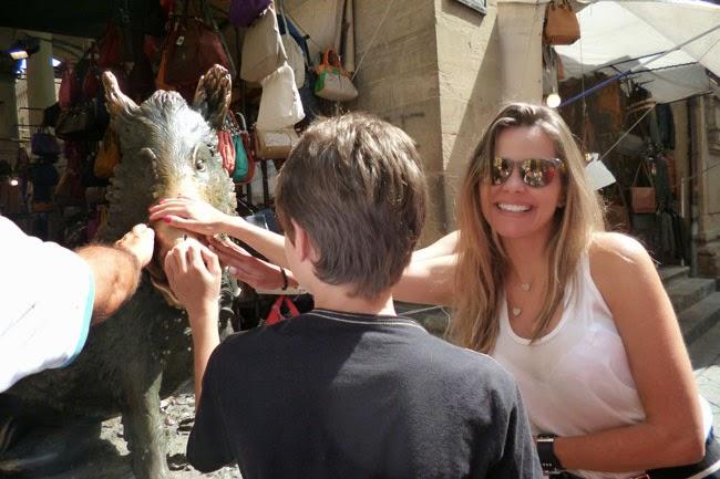 Fonte do porquinho, Florença