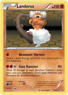 Landorus Pokemon Card Noble Victories Set