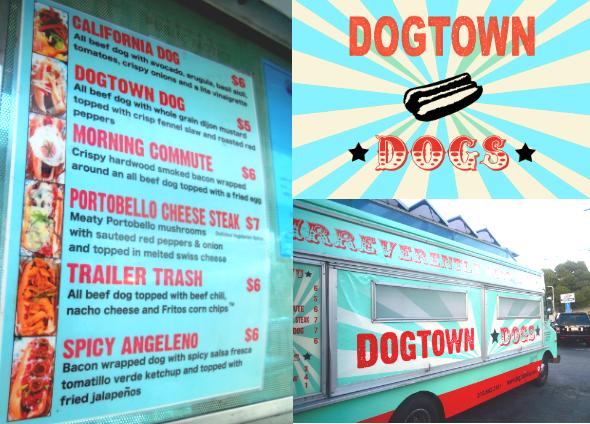 Dogtown Food Menu