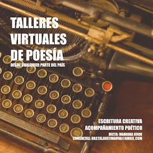 Taller de poesía (modalidad virtual)