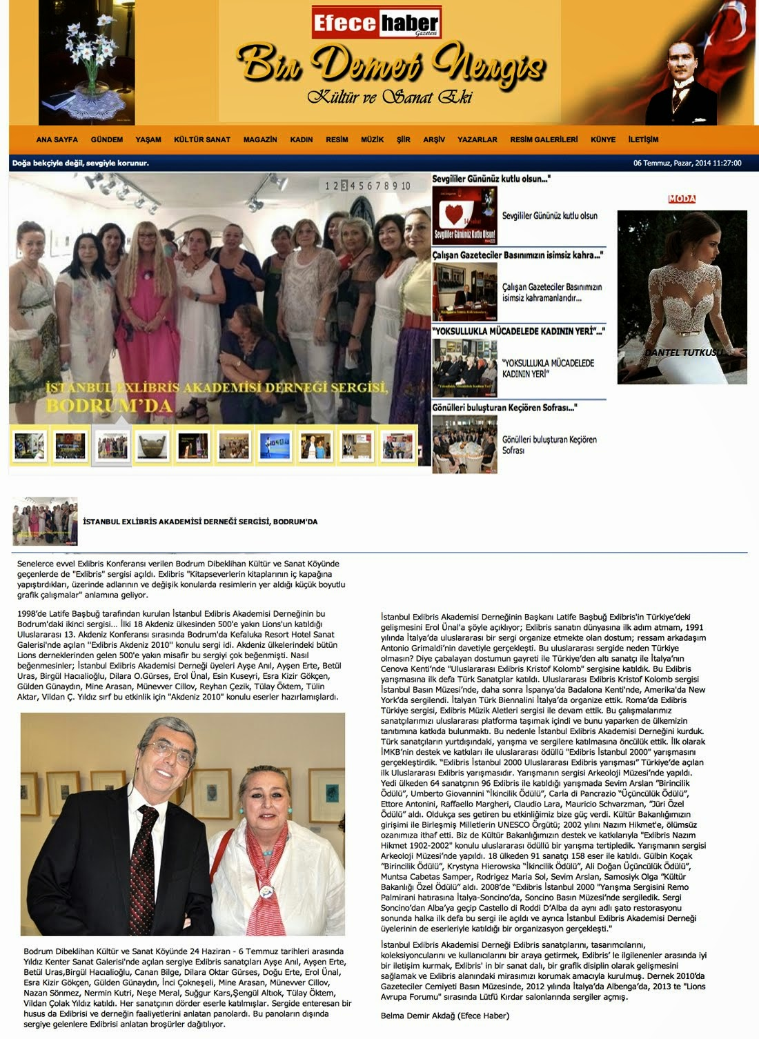 EFECE HABER/BİR DEMET NERGİS