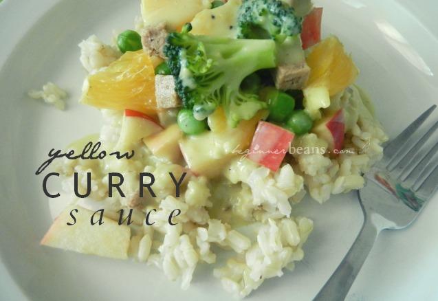 yellow curry sauce recipe